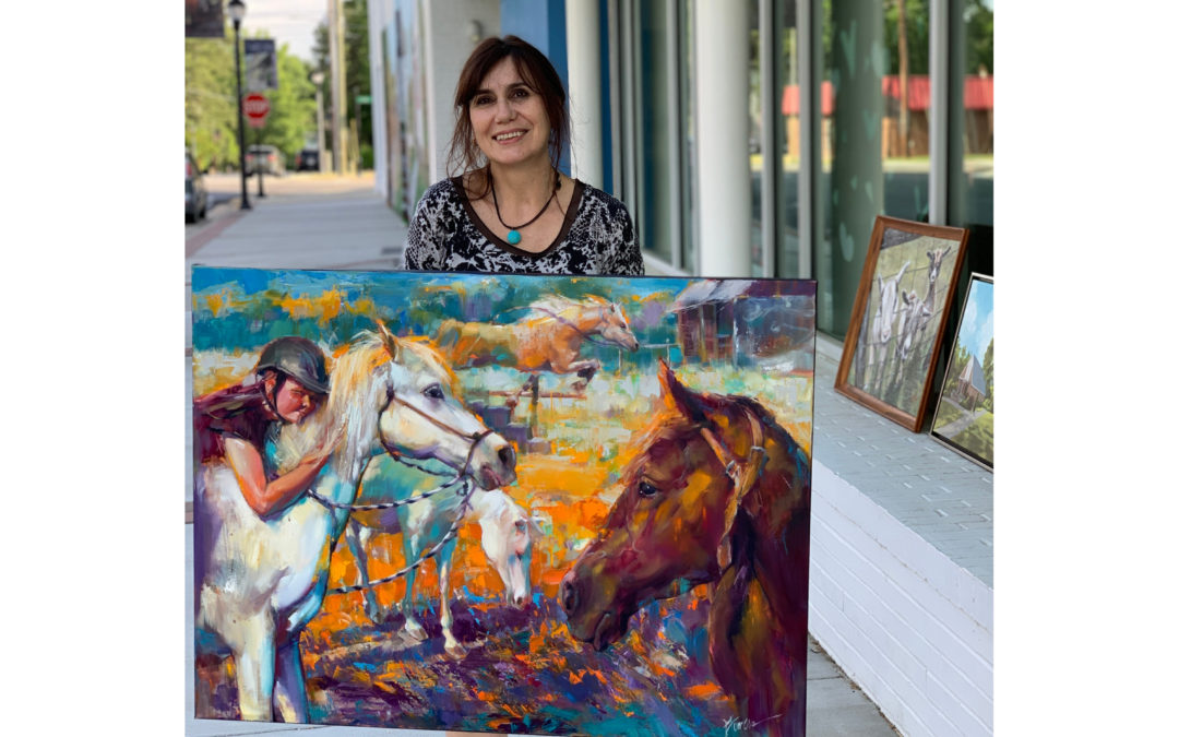 Second Place Winner of the 2020 En Plein Air Paint-Off: Lyudmila Lucy Tomova