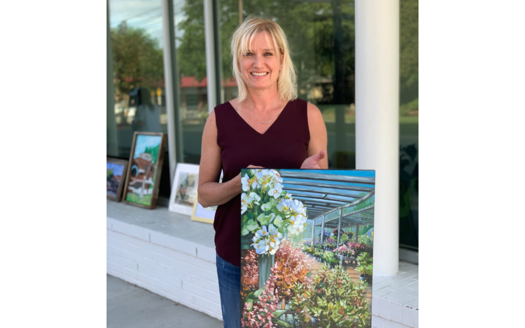 Third Place Winner of the 2020 En Plein Air Paint-Off: Tonia Gebhart