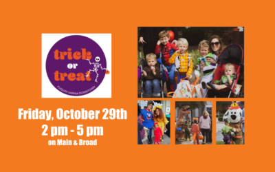 Trick or Treat Downtown – Friday October 29th