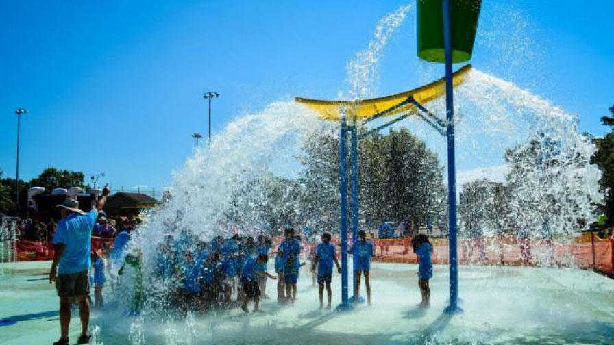 Fuquay-Varina-Town_Splash-pad_Waterfall
