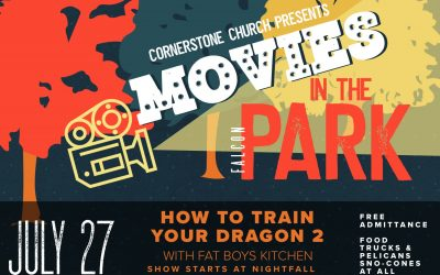 Movies in the Park ** How to Train Your Dragon 2 **