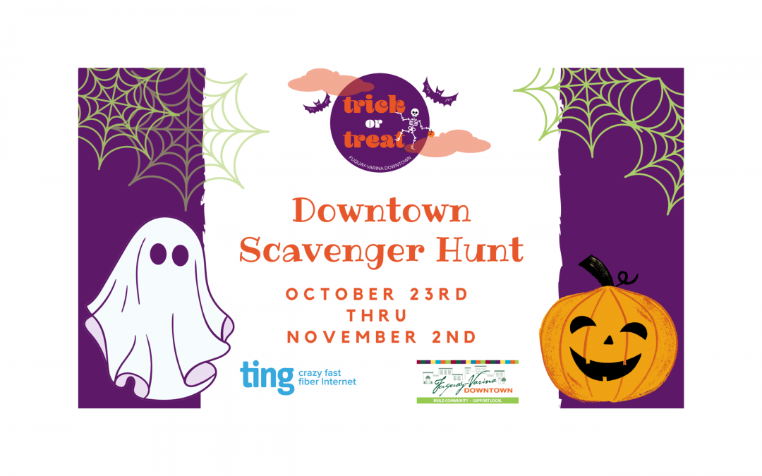 Trick-or-Treat Downtown Scavenger Hunt October 23 – November 2