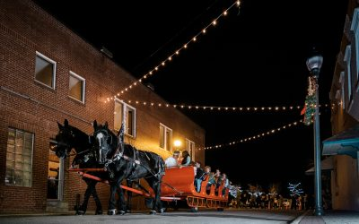 Sleigh Rides in Downtown 2019